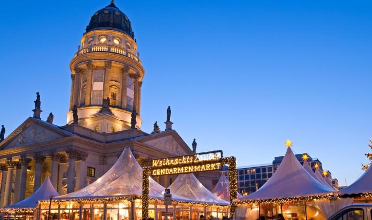 Weihnachtszauber auf dem Berliner Gendarmenmarkt